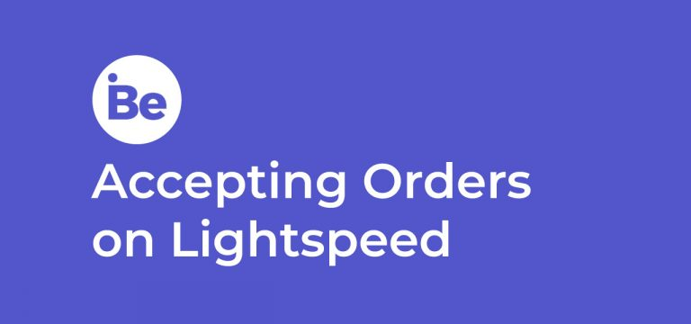 Accepting Orders on Lightspeed POS