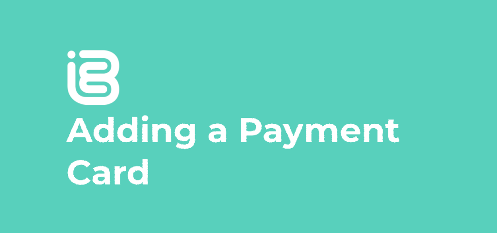 Adding a Payment Card