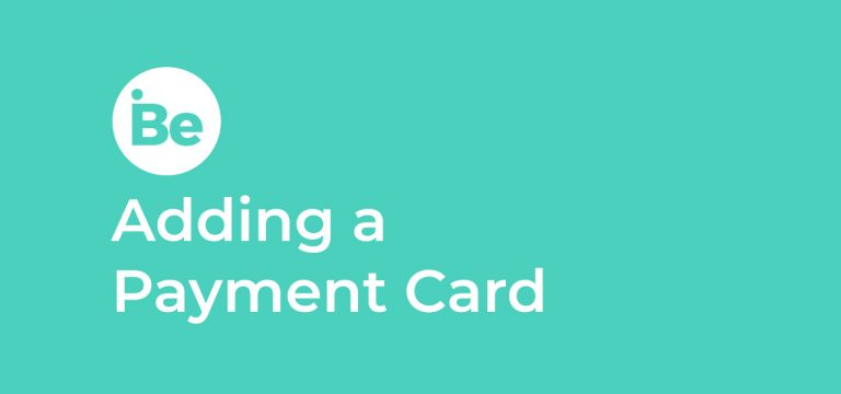 Adding a Payment Card