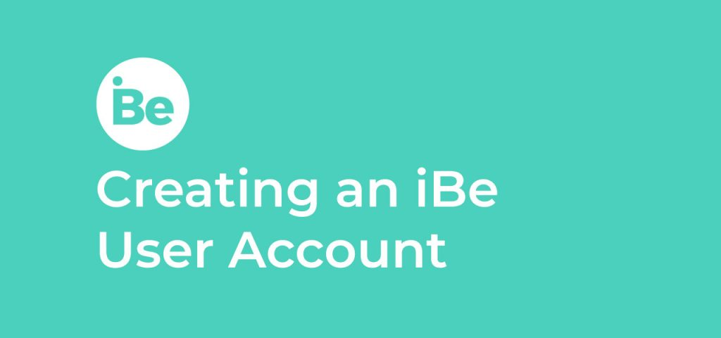 Creating an iBe User Account