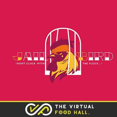 jail bird tile virtual food hall square