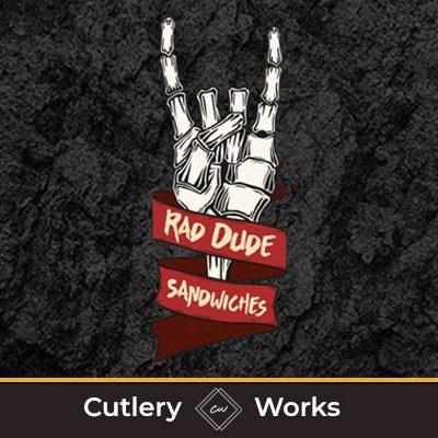 rad dude CW logo