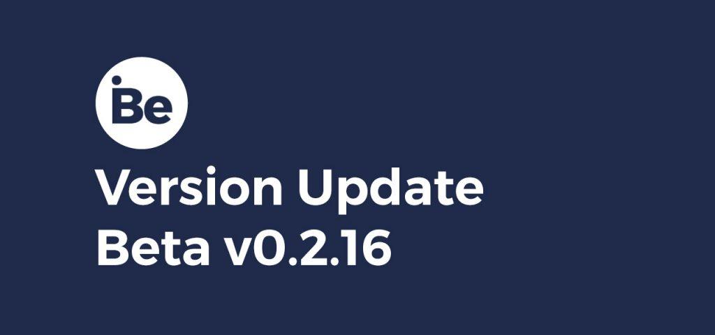 Version Update – Beta 0.2.16