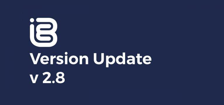 Version Update – 2.8 Visual Overhaul